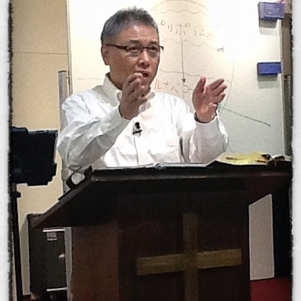 Kamidate Sensei casts vision for gospel multiplication in Japan.
