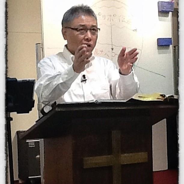 Kamidate Sensei casts vision for gospel multiplication in Japan.