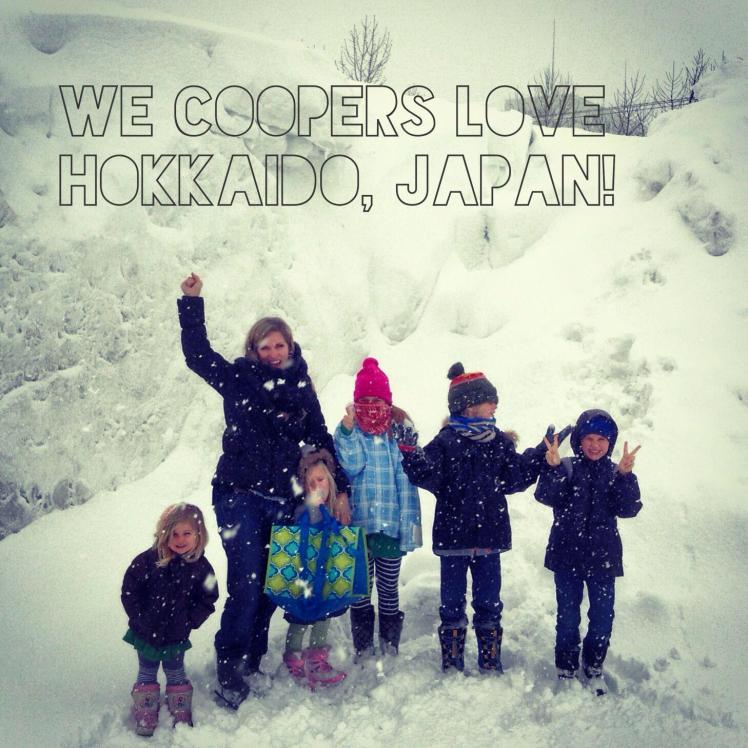 We Coopers love Hokkaido, Japan!