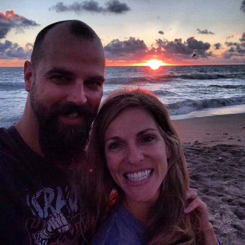 We used the kids' 2-week Fall Break to spend time in Stuart, FL connecting, training and praying for our new mission field.  Picture taken during sunrise at Stuart Beach.