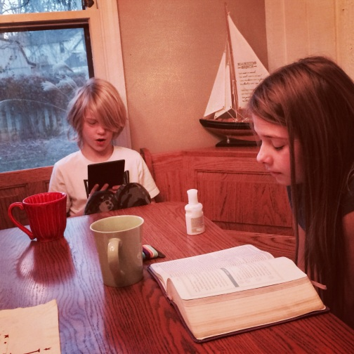 "Mayah & Malachi enjoy studying the Bible together using ""Three Thirds"" format (T4T).  We love including our kids in ministry and seeing God use them mightily among their friends!"