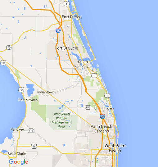 Fort Pierce to West Palm Beach